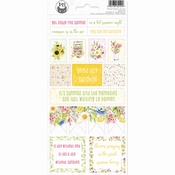 P13 | Sticker Four Seasons Summer #2 - sheets 10,5 x 23 cm