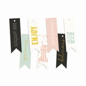 P13 | Decorative Tags Around the table | 7 stuks | Banner |