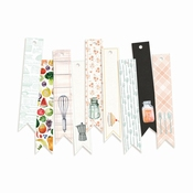 P13 | Deco. Tags Around the table  | 9 stuks | Banner |