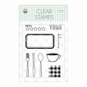 P13 | Clear Stempel Around the tabel