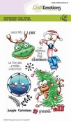 CraftEmotions stempel A6 | Carla Creaties | Jungle Christmas