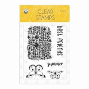 Piatek  | Clear Stempel The Four Seasons Summer