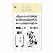 P13 | Clear Stempel The Four Seasons Spring