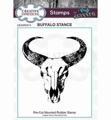 Andy Skinner Stamp | Buffalo Stance