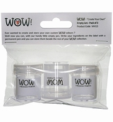 WOW Empty Jars - Pack of 3