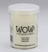 WOW embossing poeder |  Clear Gloss | Ultra high glans |160