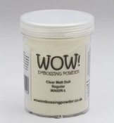 WOW embossing poeder |  Clear Matt Dull |160