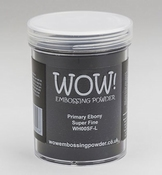 WOW Embossingpoeder Primary  Ebony |160ml