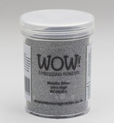 WOW Embossingpoeder |  Metallic Silver |160