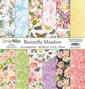 Scrapboys | Butterfly Meadow  Papierset 12