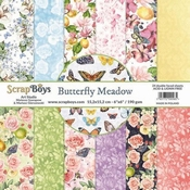 Scrapboys | Butterfly Meadow  Paperpad 6