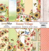 Scrapboys | Sunny Village Paperset 12 x 12 inch