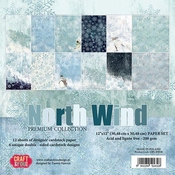 Craft & You | Paperpad 12 x 12 inch - North Wind