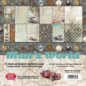 Craft & You | Paperpad 12 x 12 inch - Mans World