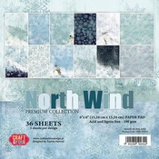 Craft & You | Paperpad 6 x 6 inch - North Wind