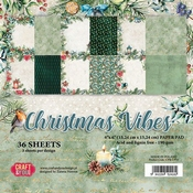 Craft & You   Paperpad 6 x 6 inch - Christmas Vibes