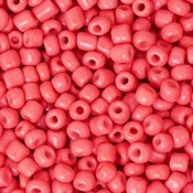 ROOD Salmon Rocaille 8/0 | 3mm | 800 st | ± 25 gram