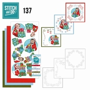 Stitch and Do 137 Yvonne Creations - Big Guys - Christmas