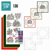 Stitch and Do 136 Christmas Vilage
