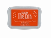 Radiant Neon Electric Orange Ink Pad
