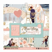 Stamperia | Love Story Paper Pack Scrapbooking  12