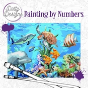 Dotty Design Painting by Numbers - Underwater World