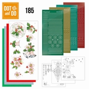 Dot and Do 185 - Jeanine's Art - Christmas Flowers - Pink Ch