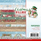 Yvonne Creations paperpack Christmas Village