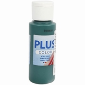 Plus Color, Dark Green, 60 ml per stuk