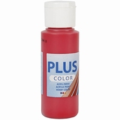 Plus Color Acrylverf Berry Red 60 ml