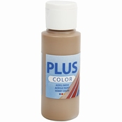 Plus Color, Light Brown, 60 ml per stuk