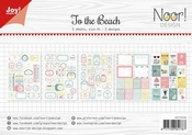 Joy Crafts Papierset To the Beach Labels