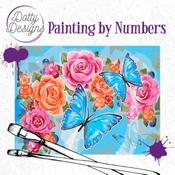 Dotty Design Painting by Numbers - Butterflies