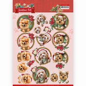 Amy Design knipvel | Christmas Pets Christmas Dogs