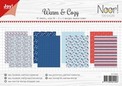 Joy Crafts Papierset Warm & Cozy