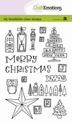 CraftEmotions clearstamps A6 | X-mas decorations 1