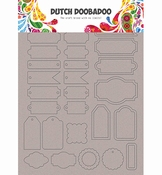 Dutch Doobadoo Greyboard Art Labels and tags