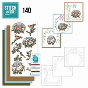 Stitch and Do 140 - Amy Design - Christmas Birds