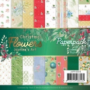 Paperpack - Jeanines Art Christmas Flowers