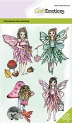 CraftEmotions stempel A6 | Fairies