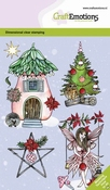 CraftEmotions clearstamps A6 | Fairy house