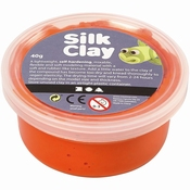 Silk Clay, orange, 40 gr Per stuk