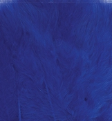Marabou Feathers,Cobalt blue,15pcs