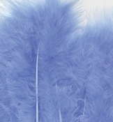 Marabou Feathers,Blue,15pcs