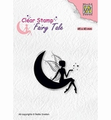 Nellies Choice Fairy Tale nr. 17 Elf on moon