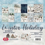 Craft & You | Paperstack 6 x 6 inch - Winter Holiday
