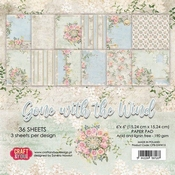 Craft & You | Paperpad 6 x 6 inch - Gone with the Wind