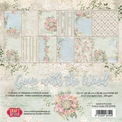 Craft & You | Paperpad 12 x 12 inch - Gone with the Wind