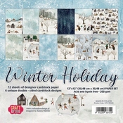 Craft & You | Paperpad 12 x 12 inch - Winter Holiday