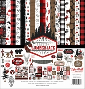 Echo Park Collection Let's Lumberjack 12 x 12 inch